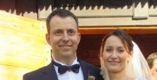 Ślub Moiniki Łysikowskiej i Marcina Bartkowiaka