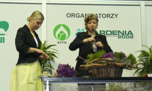 Pokazy Florystyczne GARDENIA 2008